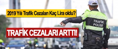 2019 Yılı Trafik Cezaları Kaç Lira oldu?