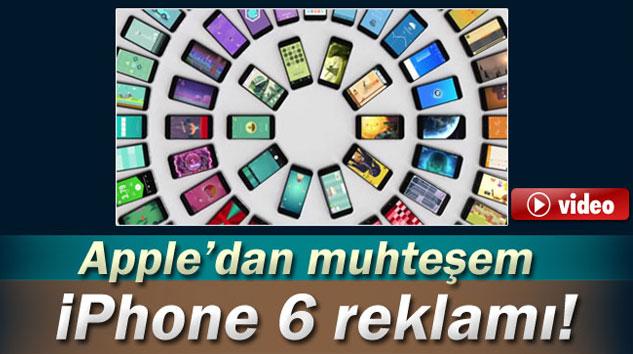 iPhone 6'ya muhteşem reklam