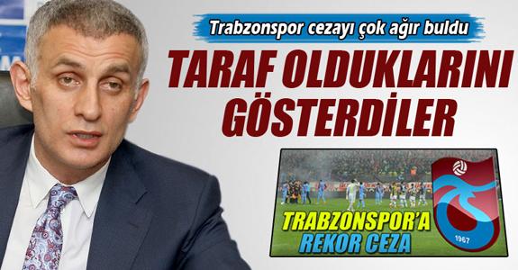 TRABZONSPOR 6 MAÇLIK CEZAYI ÇOK AĞIR BULDU!
