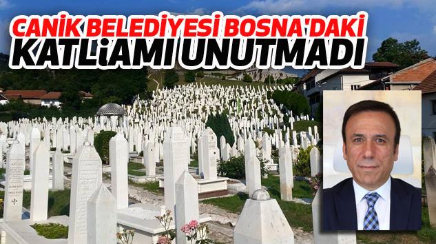Canik Belediyesi Bosna'daki Katliamı Unutmadı