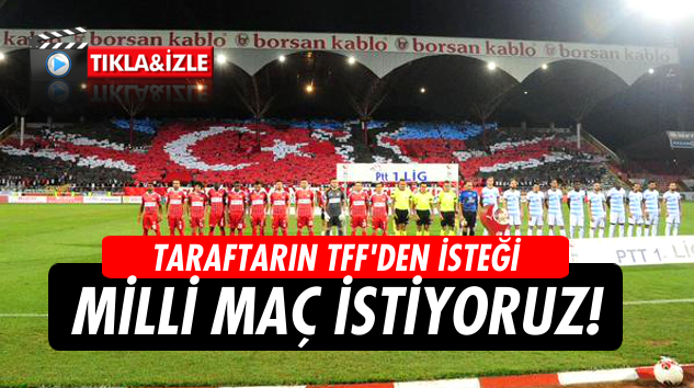 Samsunspor taraftarından TFF'ye milli çağrı!