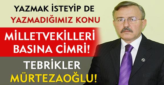 MİLLETVEKİLLERİ BASINA CİMRİ!
