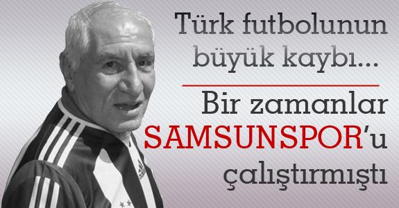Lefter Samsunspor'u da çalıştırmıştı