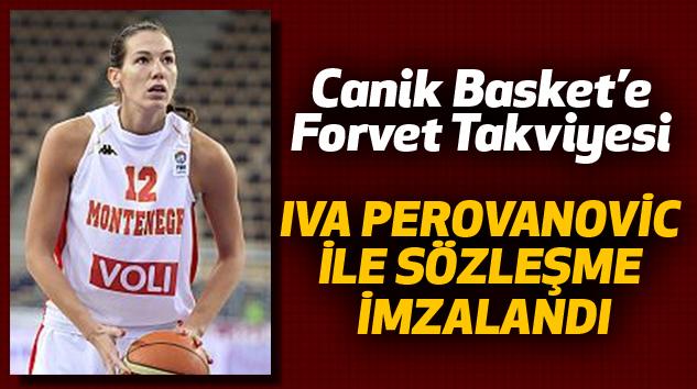 Canik Basket'e Forvet Takviyesi