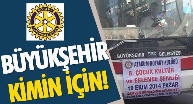 Samsun Büyükşehir Belediye Başkanı Yusuf Ziya Yılmaz Rotaryenlere Hamilik Yapmaya Devam Ediyor!