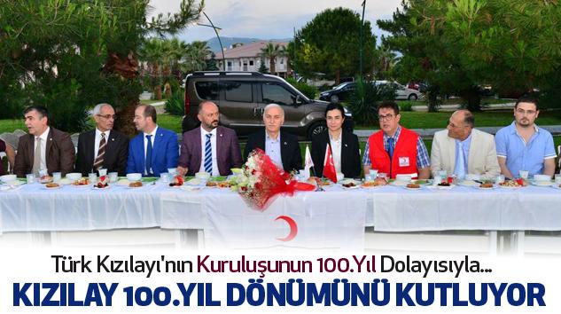 Türk kızılayı 100 yaşında...