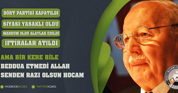 Prof. Dr. Necmettin Erbakan (1926-2011)