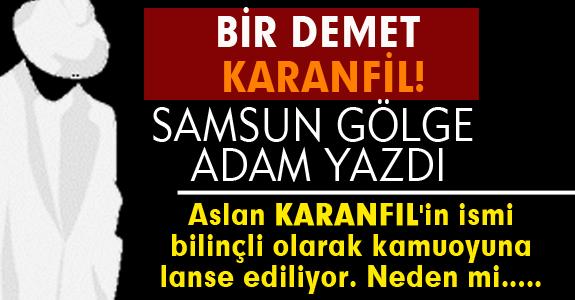 BİR DEMET KARANFİL!