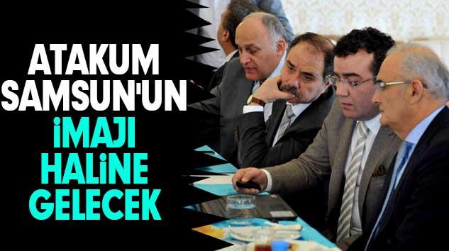 """YILMAZ: """"Atakum Samsun'un İmajı Haline Gelecek"""""""