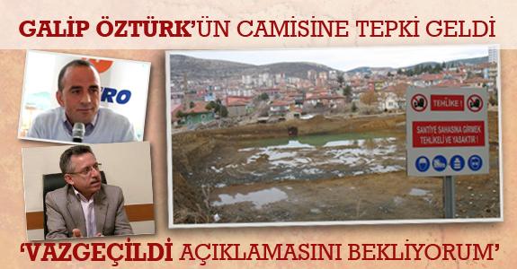 HAS Partili eski vekilden Galip Öztürk'ün Camisine tepki geldi