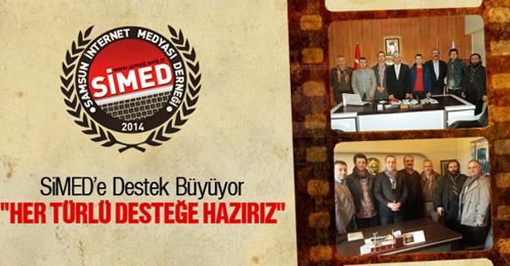 SiMED'e Destek Büyüyor 'HER TÜRLÜ DESTEĞE HAZIRIZ'