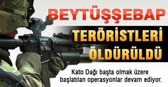Beytüşşebap'ta 18 PKK'lı Öldürüldü..