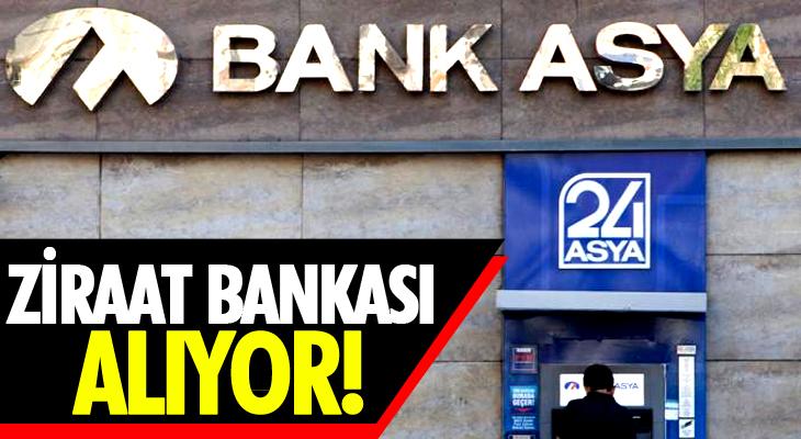 BANK ASYA'YI ZİRAAT BANKASI ALIYOR!