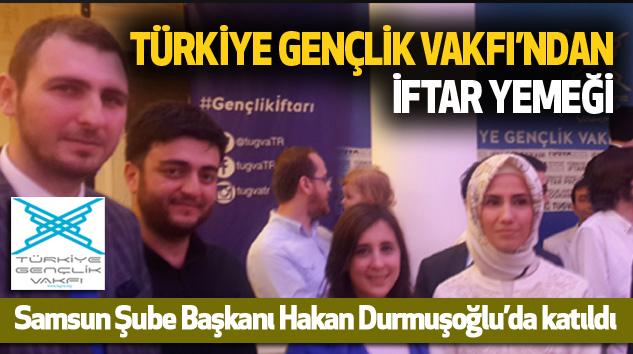 Türkiye Gençlik Vakfı'ndan İftar Yemeği