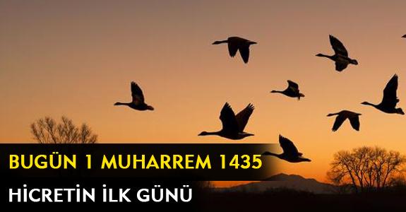BUGÜN 1 MUHARREM 1435