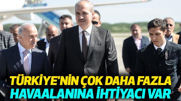 Başbakan Yardımcısı Kurtulmuş:Türkiye'nin Çok Daha Fazla Havaalanına İhtiyacı Var