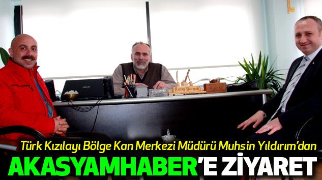 Türk Kızılayı Bölge Kan Merkezi Müdürü Muhsin Yıldırım'dan Akasyamhaber'e Ziyaret