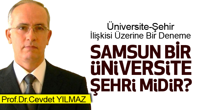 """Samsun Bir """"Üniversite Şehri"""" Midir?"""