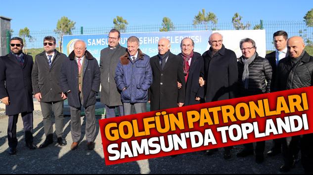 Golfün Patronları Samsun'da Toplandı