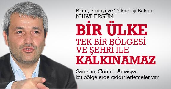 Bakan Ergün: Bir ülke tek bir bölgesi ve şehri ile kalkınamaz