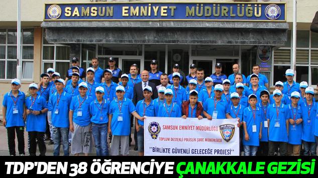 Toplum Destekli Polis'ten 38 Öğrenciye Çanakkale Gezisi