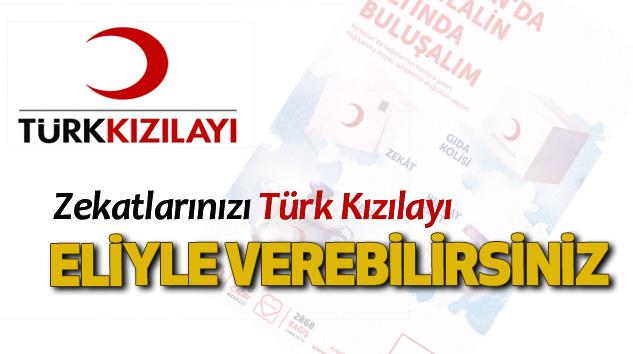 Zekatlarınızı Türk Kızılayı Eliyle Verebilirsiniz