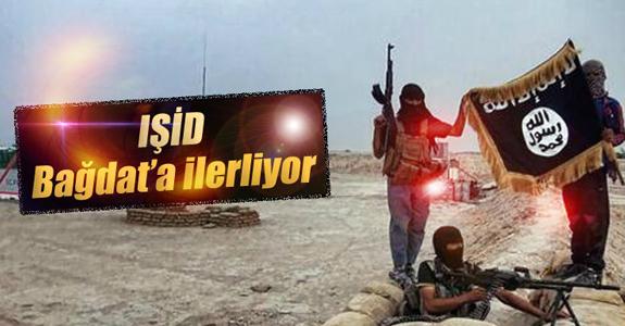 IŞİD BAĞDAT'A İLERLİYOR