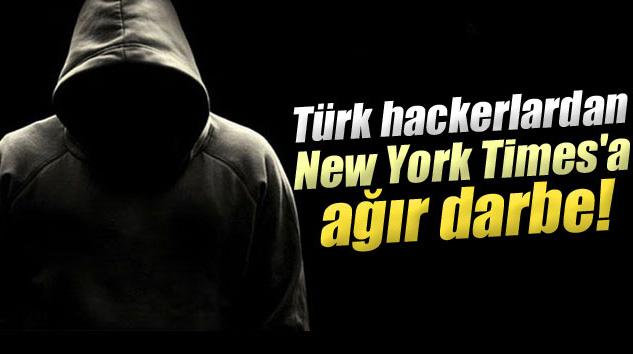 Türk Hackerlardan New York Times'a Ağır Darbe
