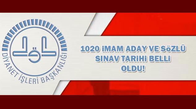 Diyanet, 1020 İmam Adayının Sözlü Sınav Tarihini Belirledi