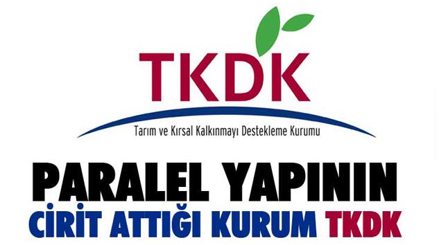 Paralel Yapının Cirit Attığı Kurum TKDK