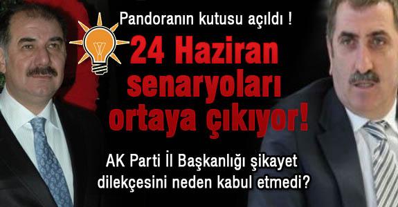 Samsun AK Parti'de pandoranın kutusu açılıyor..