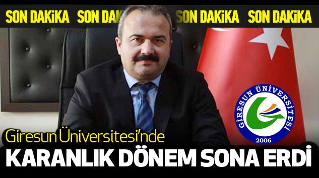 Giresun Üniversitesi'nde Karanlık Dönem Sona Erdi...