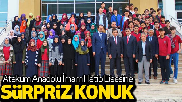 Atakum Anadolu İmam Hatip Lisesine Sürpriz Konuk