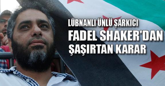 Lübnanlı Ünlü Şarkıcı Fadel Shaker'dan Şaşırtan Karar