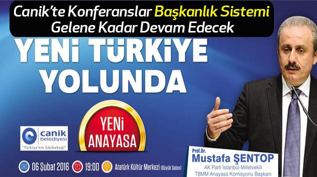Canik Belediyesi Yeni Türkiye Yolunda Konferanslar Serisini Sürdürüyor
