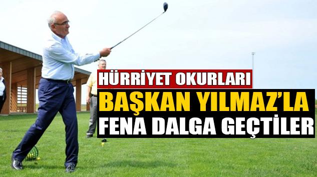 Hürriyet okurları Samsun Büyükşehir Belediye Başkanı Yusuf Ziya Yılmaz ile fena dalga geçtiler!