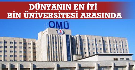 Ondokuz Mayıs Üniversitesi Dünyanın En İyi 1000 Üniversitesi Arasında