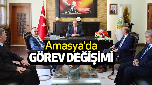 Amasya'da Görev Değişimi...