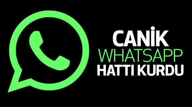 Canik'ten Whatsapp Hattı...