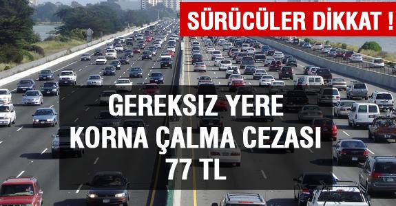 SÜRÜCÜLER DİKKAT !