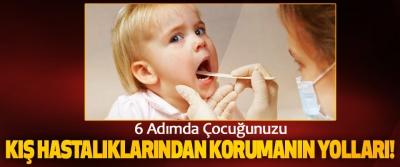 6 Adımda Çocuğunuzu Kış Hastalıklarından Korumanın Yolları!