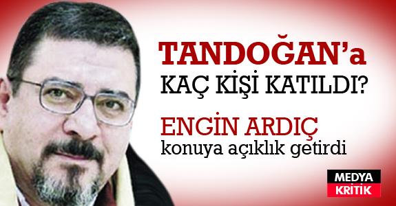 Tandoğan'da kaç kişi vardı?