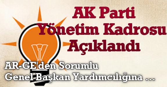 AK Parti Kadrosu Açıklandı