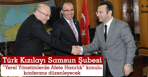Kızılay'dan Vali Aksoy'a ziyaret