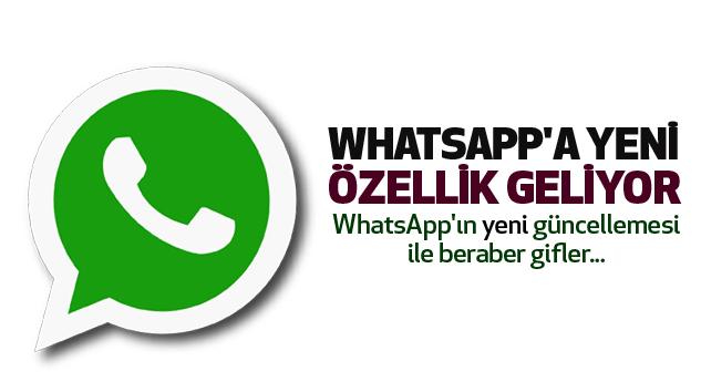 Whatsapp'a Yeni Özellik Geliyor...