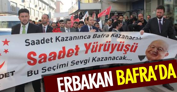 ERBAKAN BAFRA'DA
