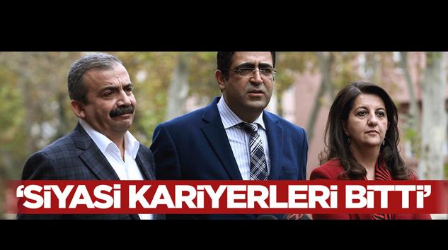 Kütahyalı: HDP'lilerin Siyasi Kariyeri Bitti