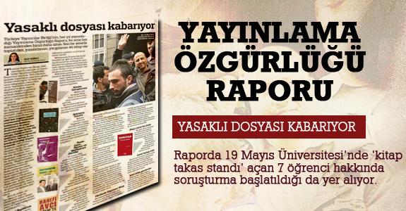 Yayınlama Özgürlüğü Raporu