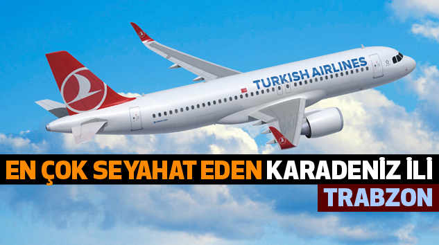 Uçakla En Çok Seyahat Eden Karadeniz İli Trabzon