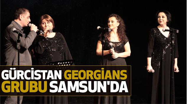 Gürcistan Georgians Grubu Samsun'da